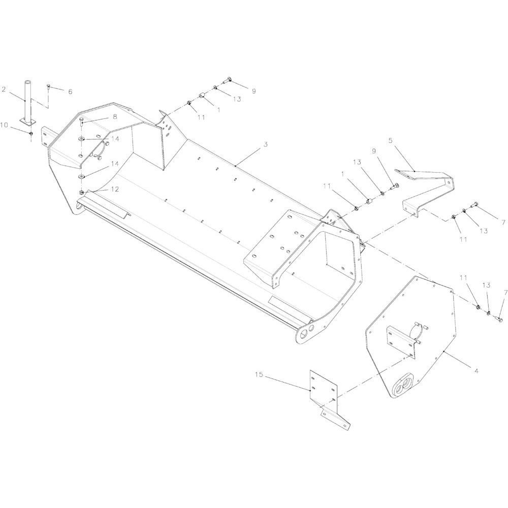 33 Frame, rotor 14-Oc passend voor KUHN FB2121