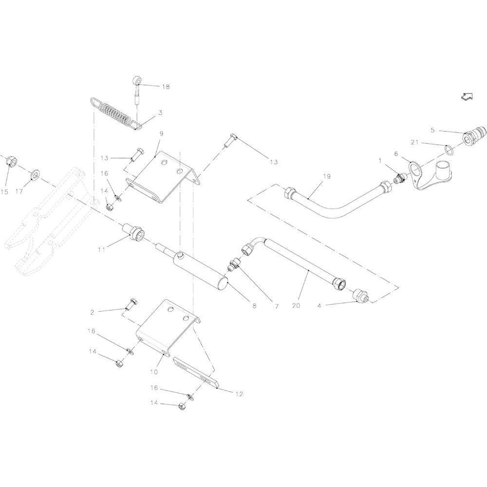38 Messenmodule 14-Oc passend voor KUHN FB2130