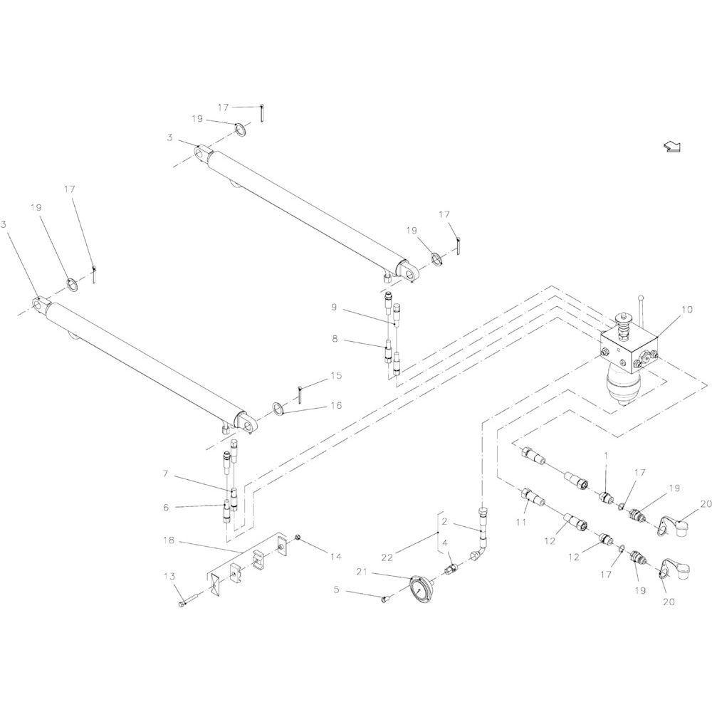 17 Hoofdframe-module passend voor KUHN FB2130