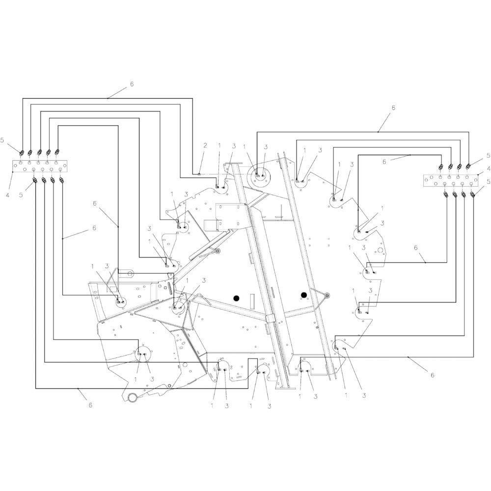 24 Lagers met smering (optie) passend voor KUHN FB2130