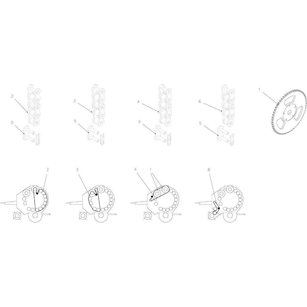 28 Kettingspanner passend voor KUHN FB2130