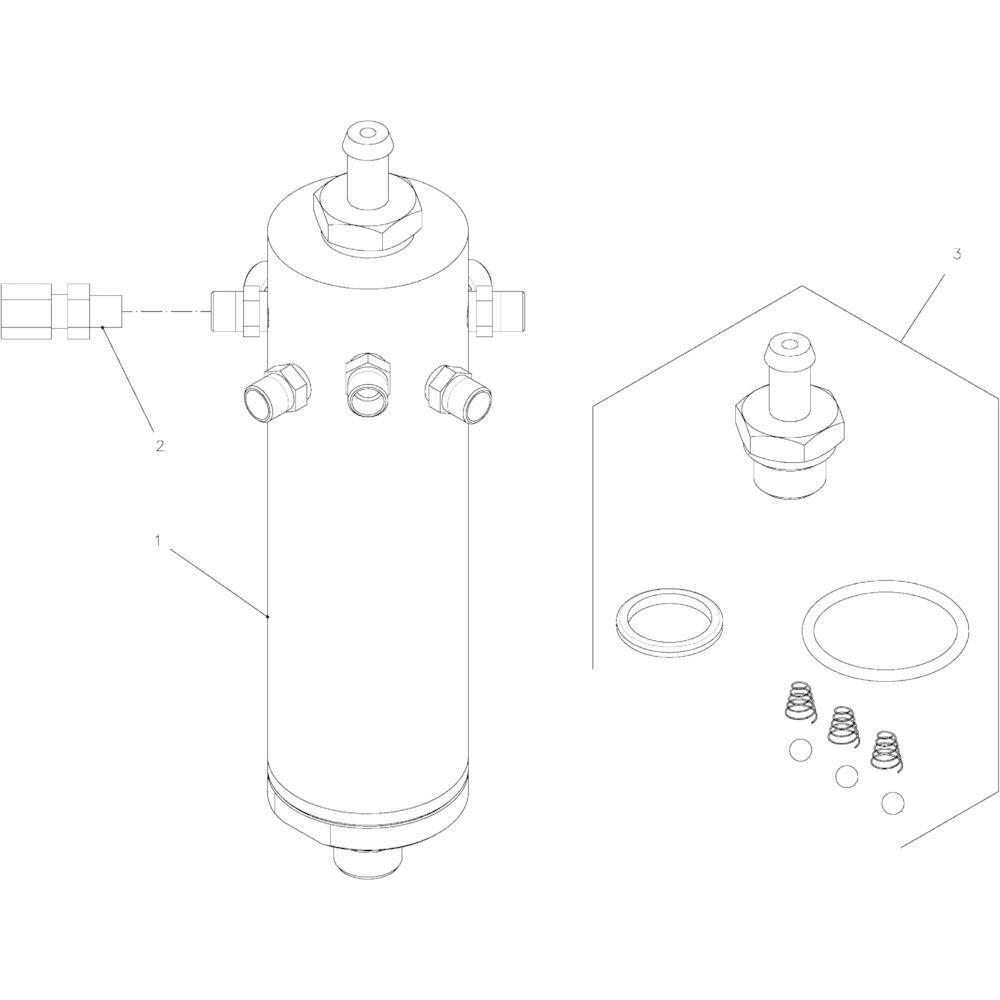 58 Olie motor passend voor KUHN FB2130
