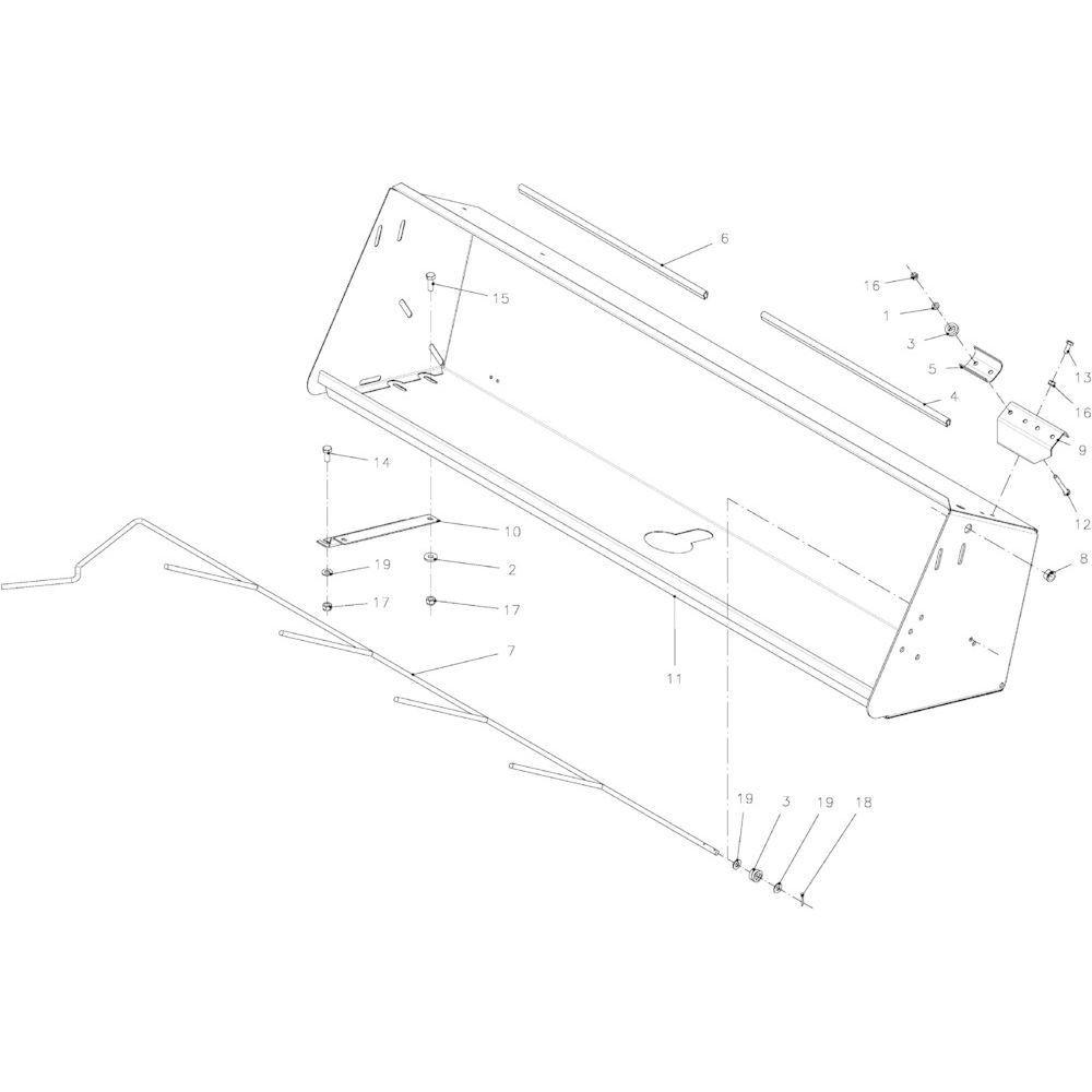 44 Touwbindsysteem passend voor KUHN FB2130