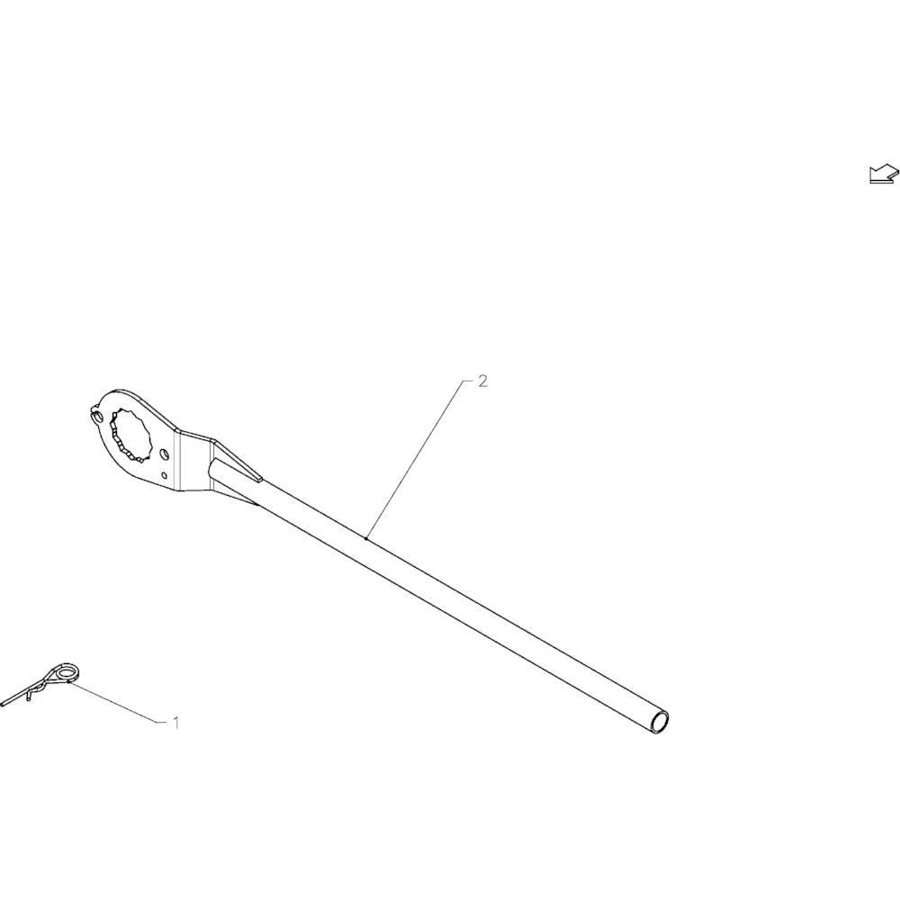 41 Hydraulische onderdelen 14-Oc passend voor KUHN FB2130