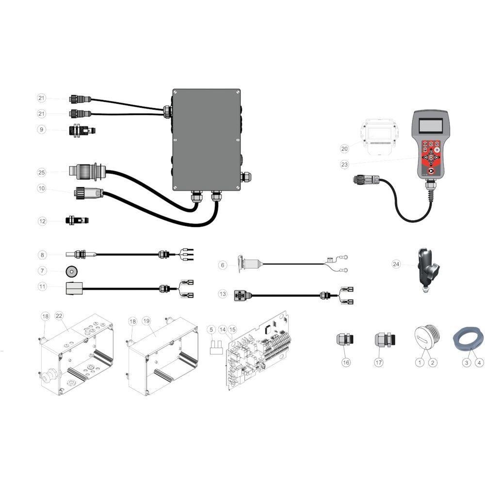 57 Elektrische regelaar passend voor KUHN FB2130