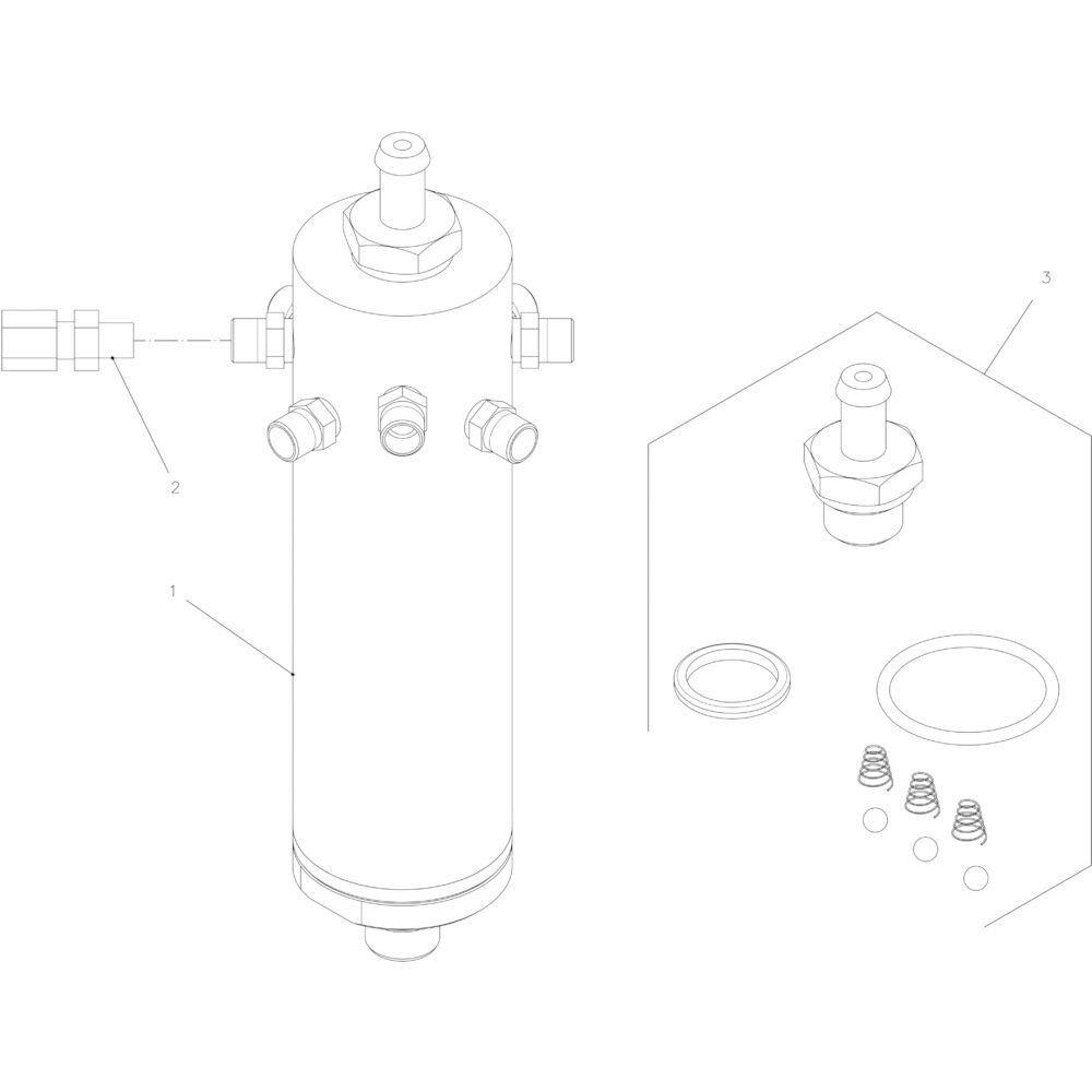 56 Olie hydraulische motor passend voor KUHN FB2130