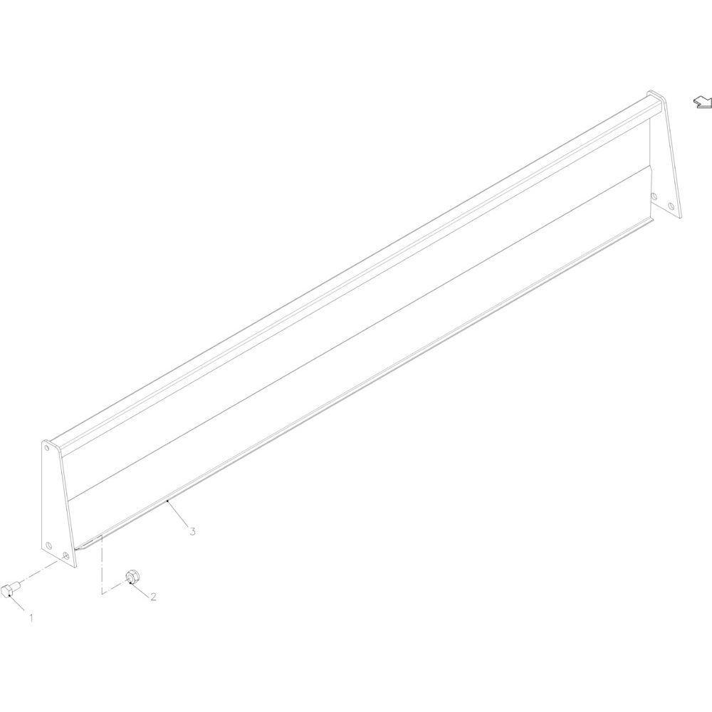 45 Touwgeleiding passend voor KUHN FB2130