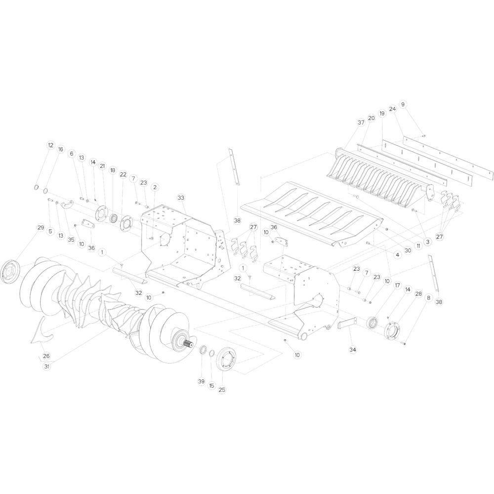 34 Brede rotor passend voor KUHN FB2130
