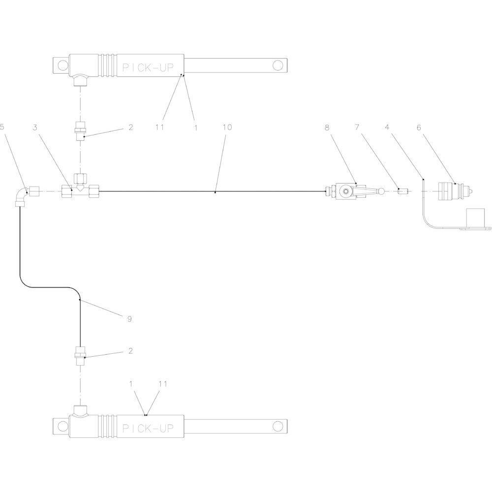 39 Hydraulische opraper passend voor KUHN FB2130