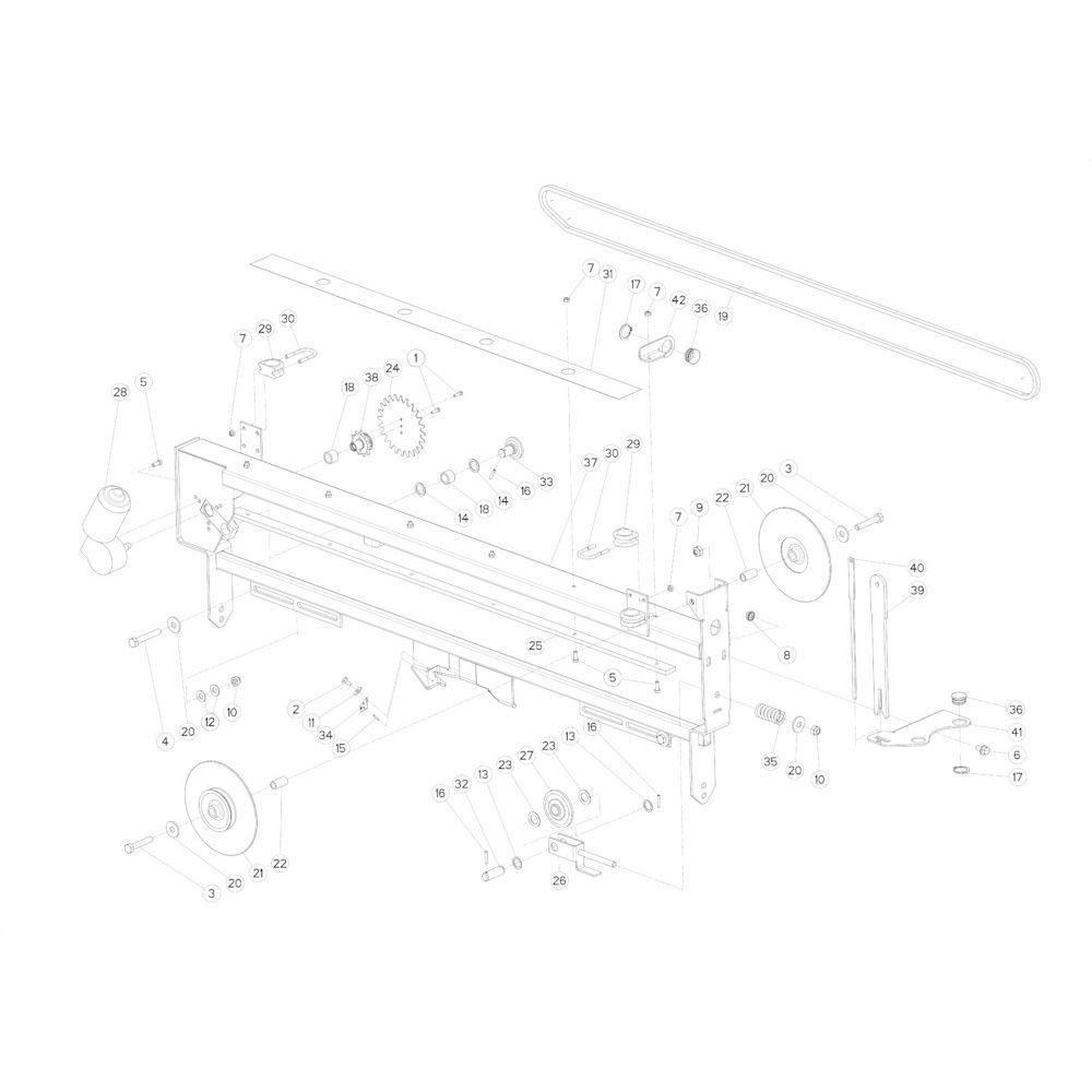 42 Touwbindsysteem passend voor KUHN FB2130