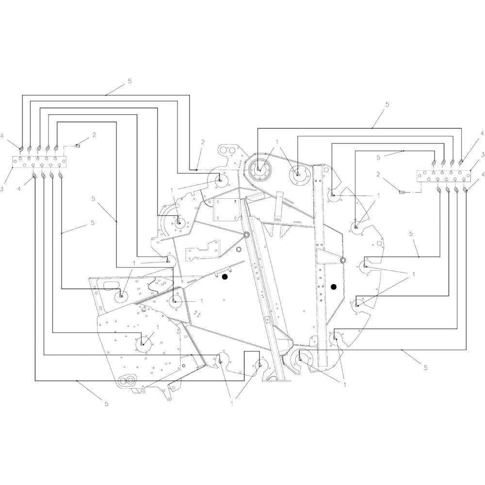 69 Smeersysteem, handmatig passend voor KUHN FB2135