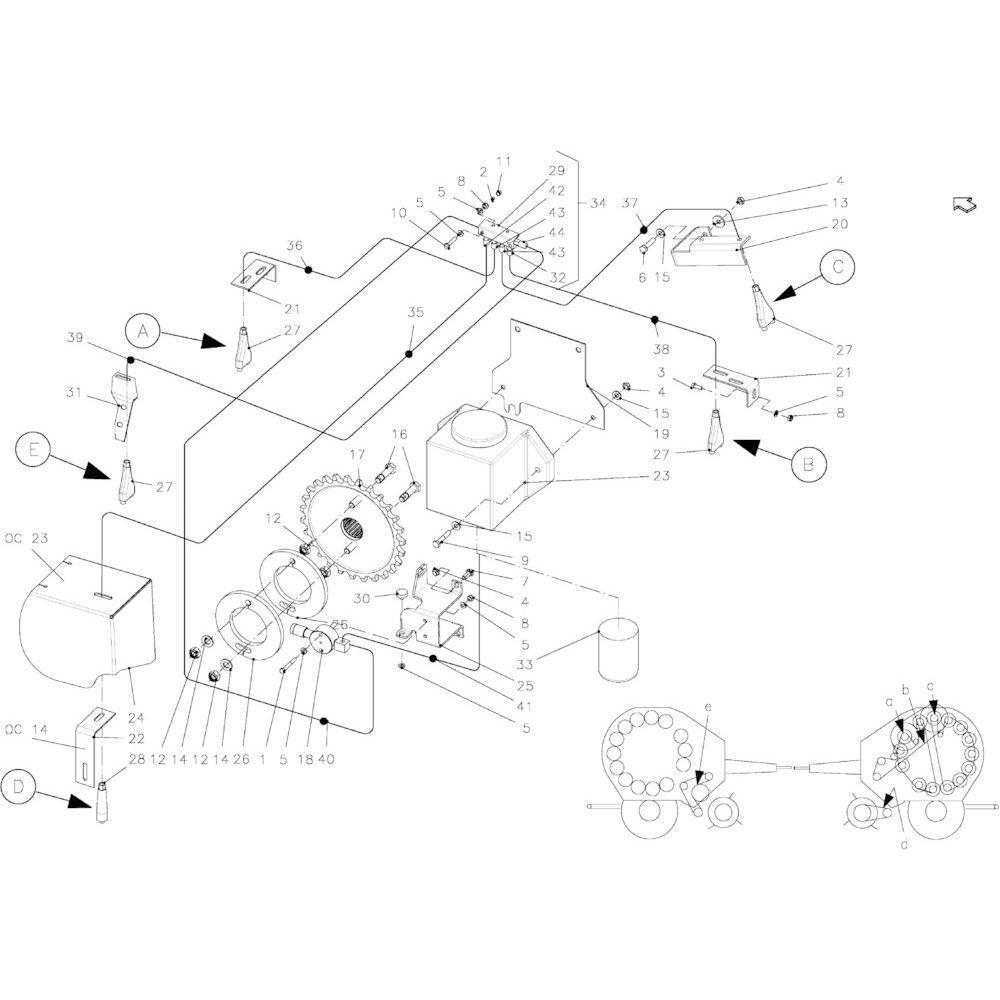 67 Smeersysteem passend voor KUHN FB2135