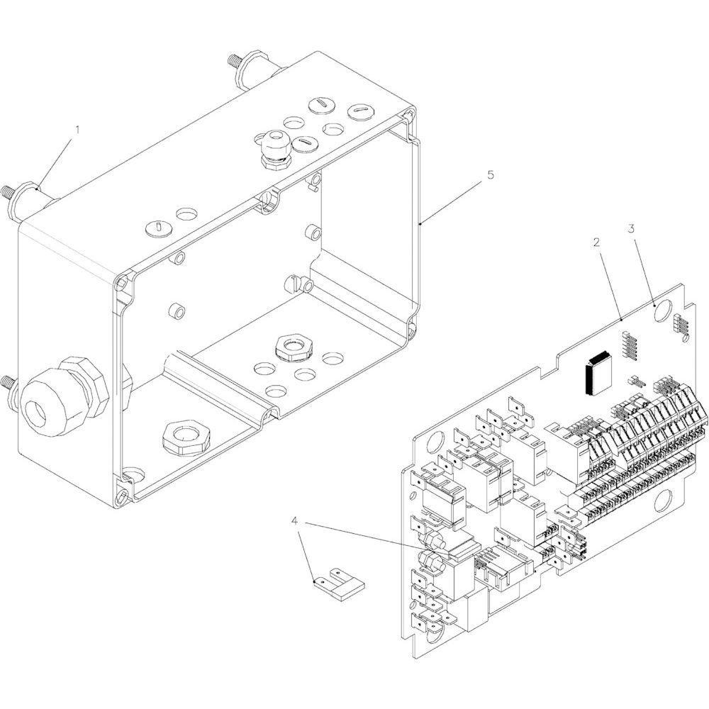 65 Besturingsbox Autoplus passend voor KUHN FB2135