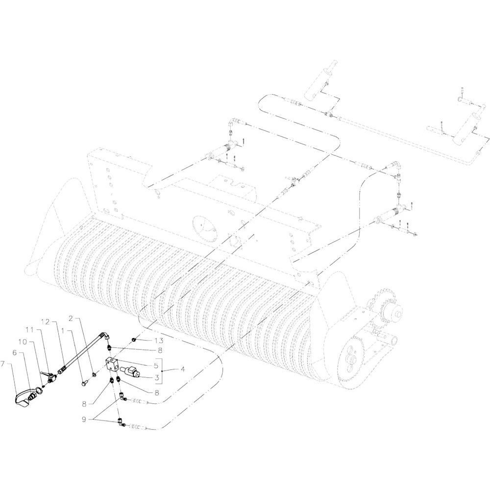 58 Hydraulische opraper Autoplus passend voor KUHN FB2135