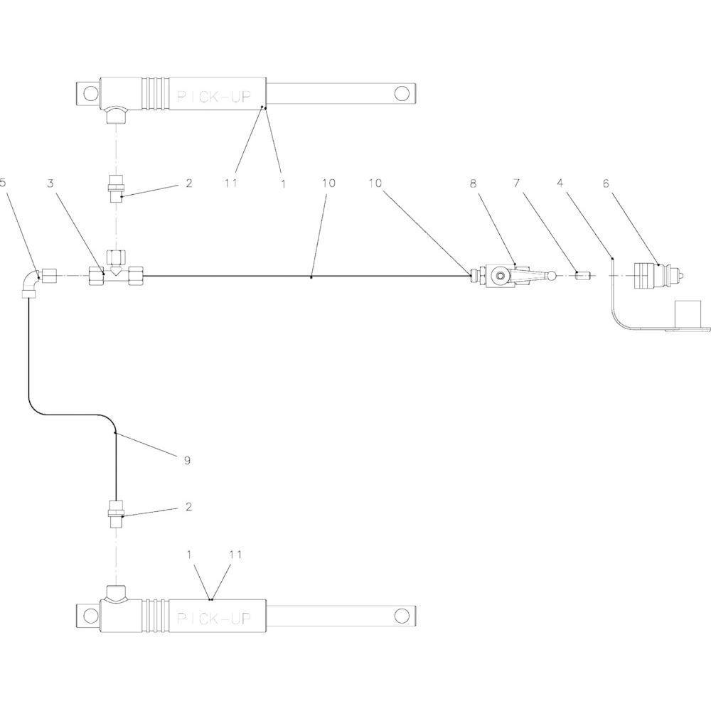 92 Hydraulische onderdelen rotor passend voor KUHN FB2135