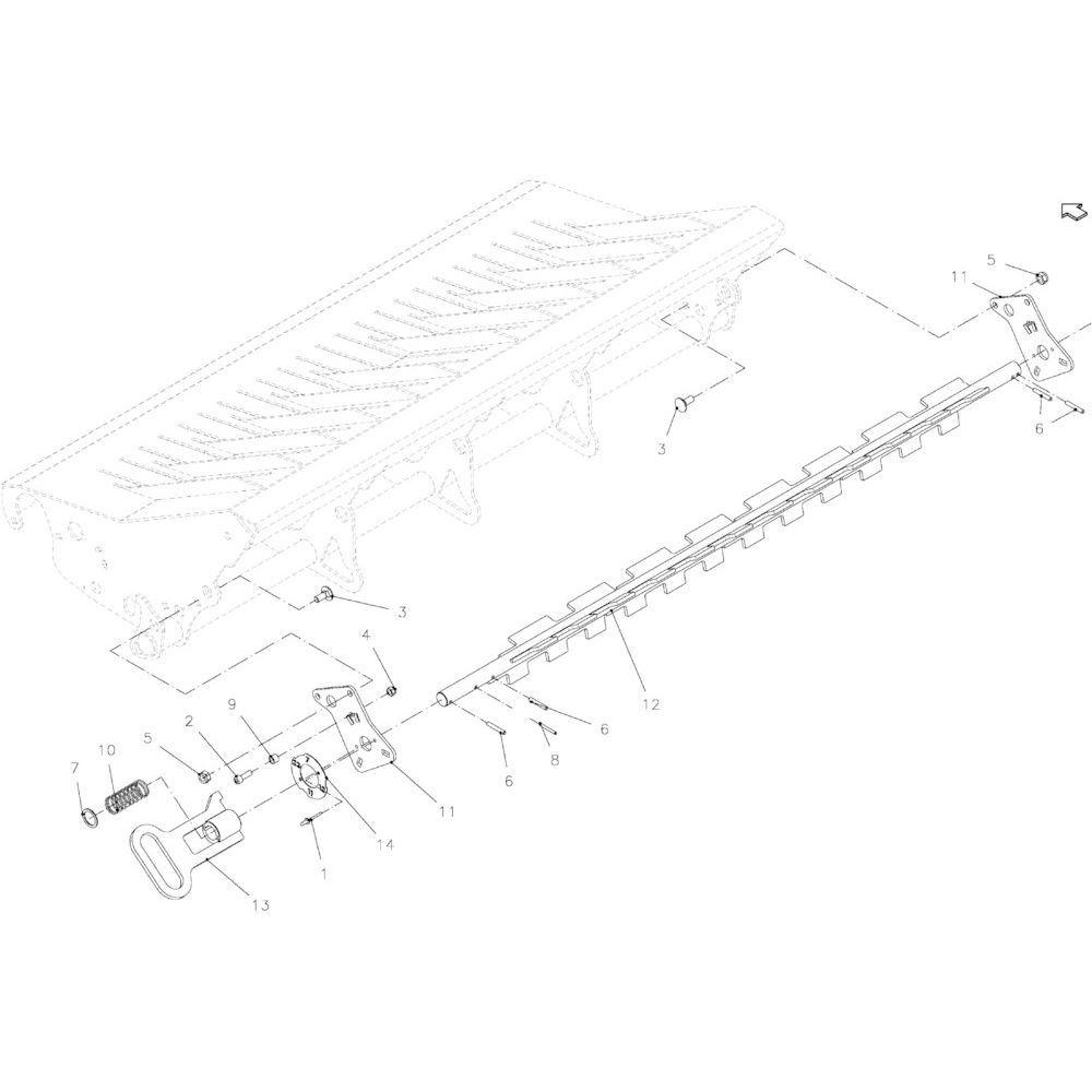 38 Groepselectie 23-Oc passend voor KUHN FB2135