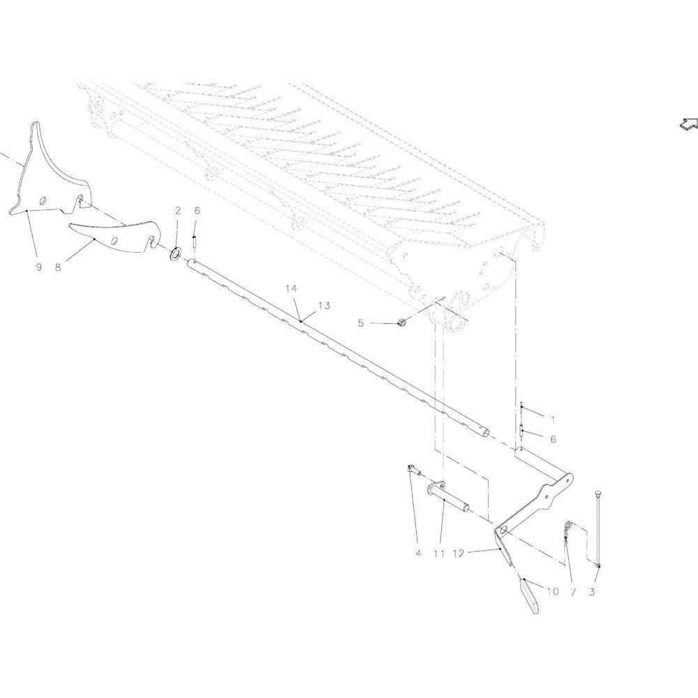 37 Messenmodule 14-Oc / 23-Oc passend voor KUHN FB2135