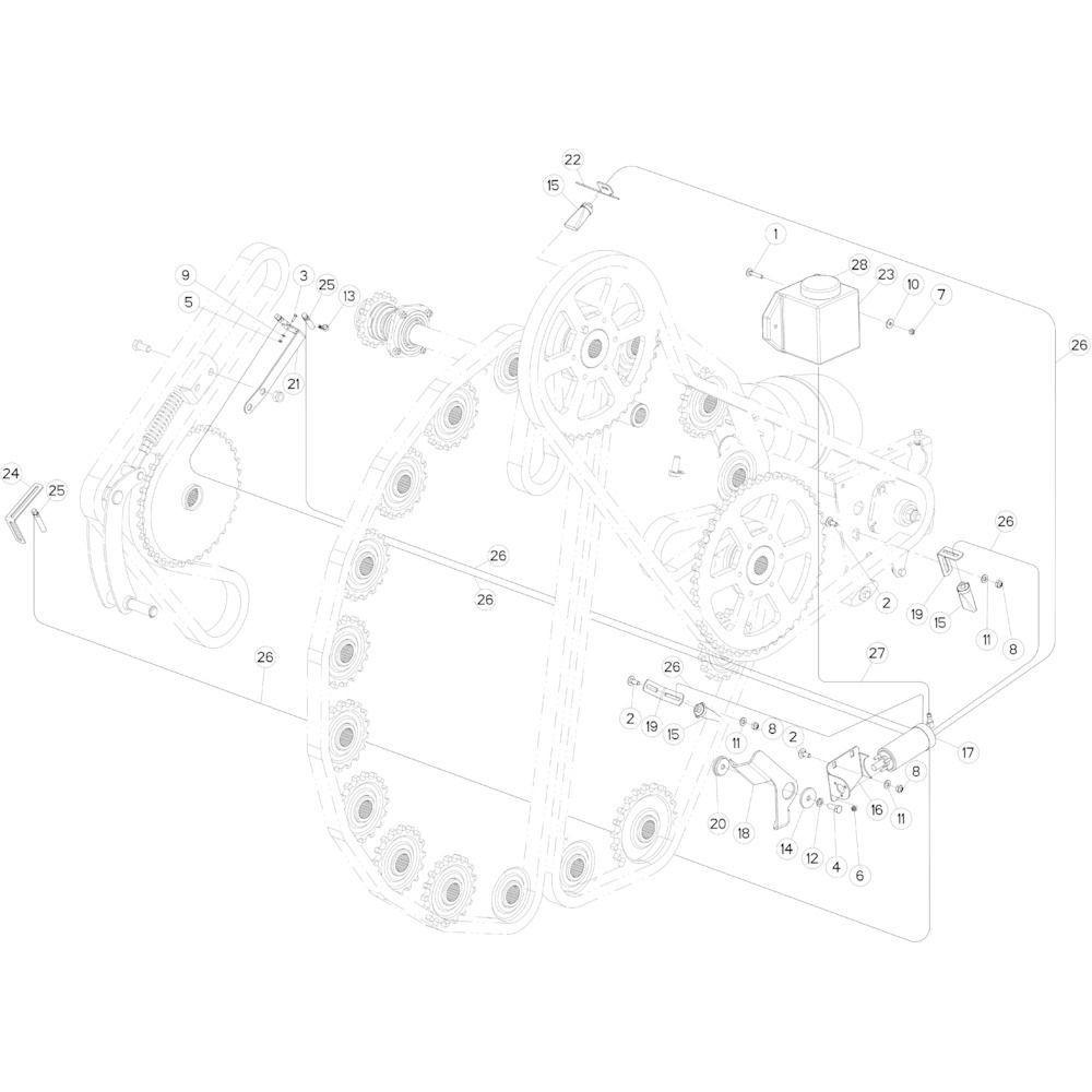 50 Smeersysteem passend voor KUHN FB2135