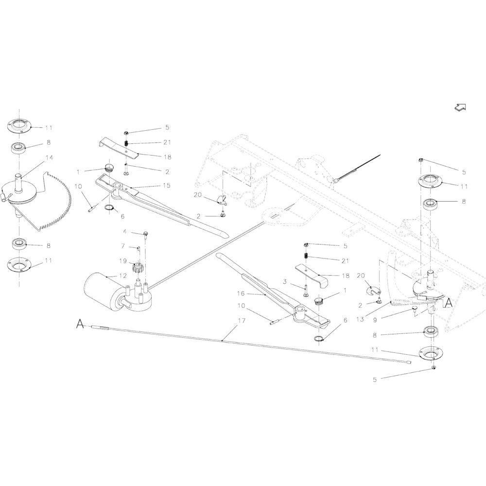 34 Touwbindsysteem passend voor KUHN FB2135