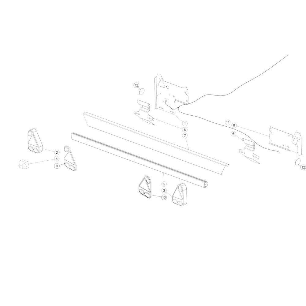 49 Verlichting passend voor KUHN FB2135