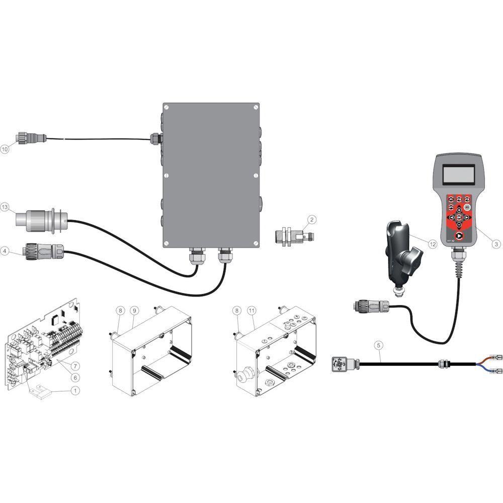 50 Elektrische regelaar passend voor KUHN FB2135