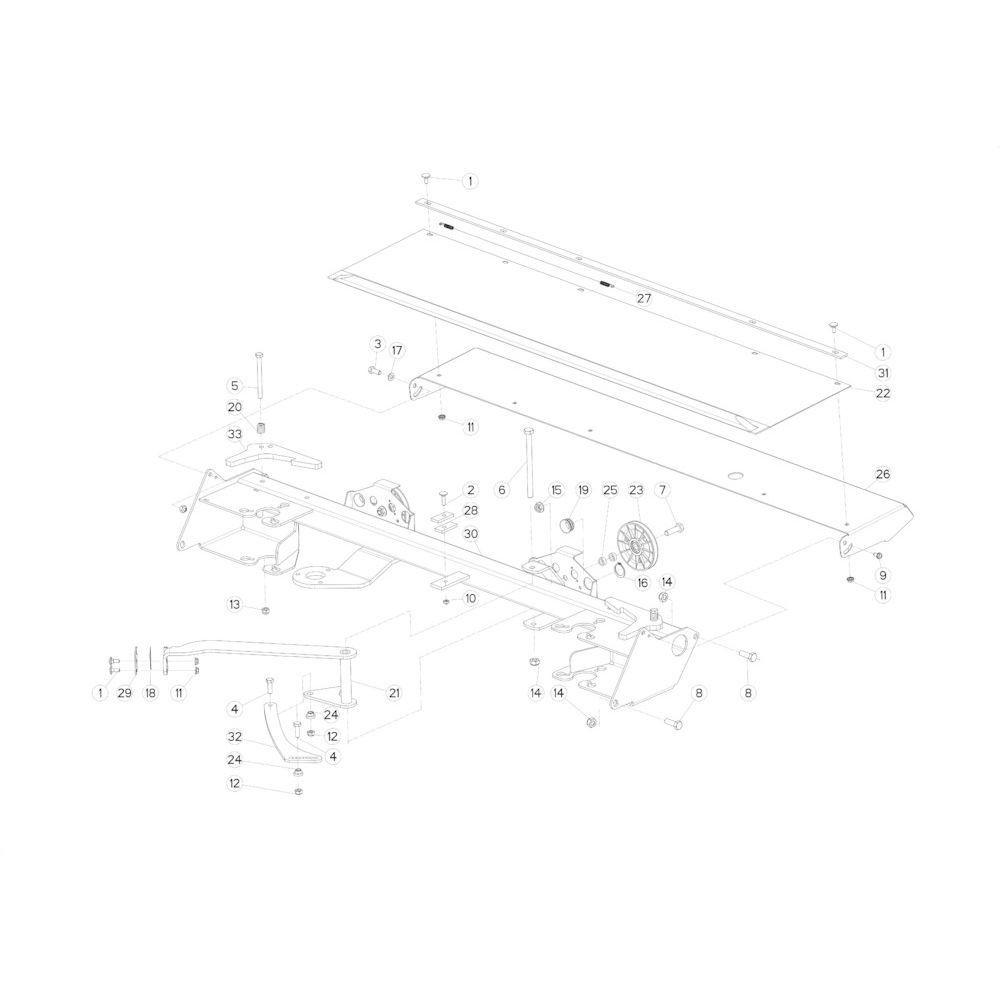 33 Touwbindsysteem passend voor KUHN FB2135