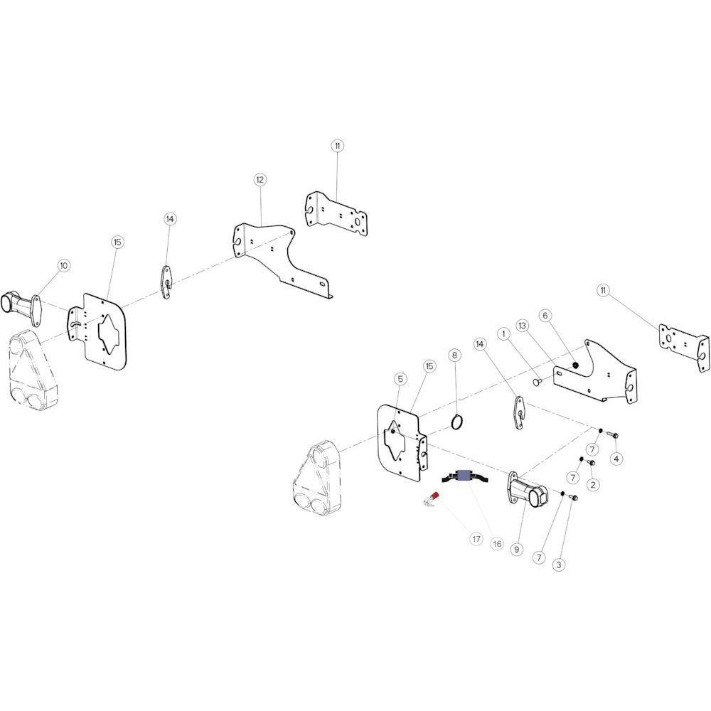 64 Verlichting A passend voor KUHN FB2135