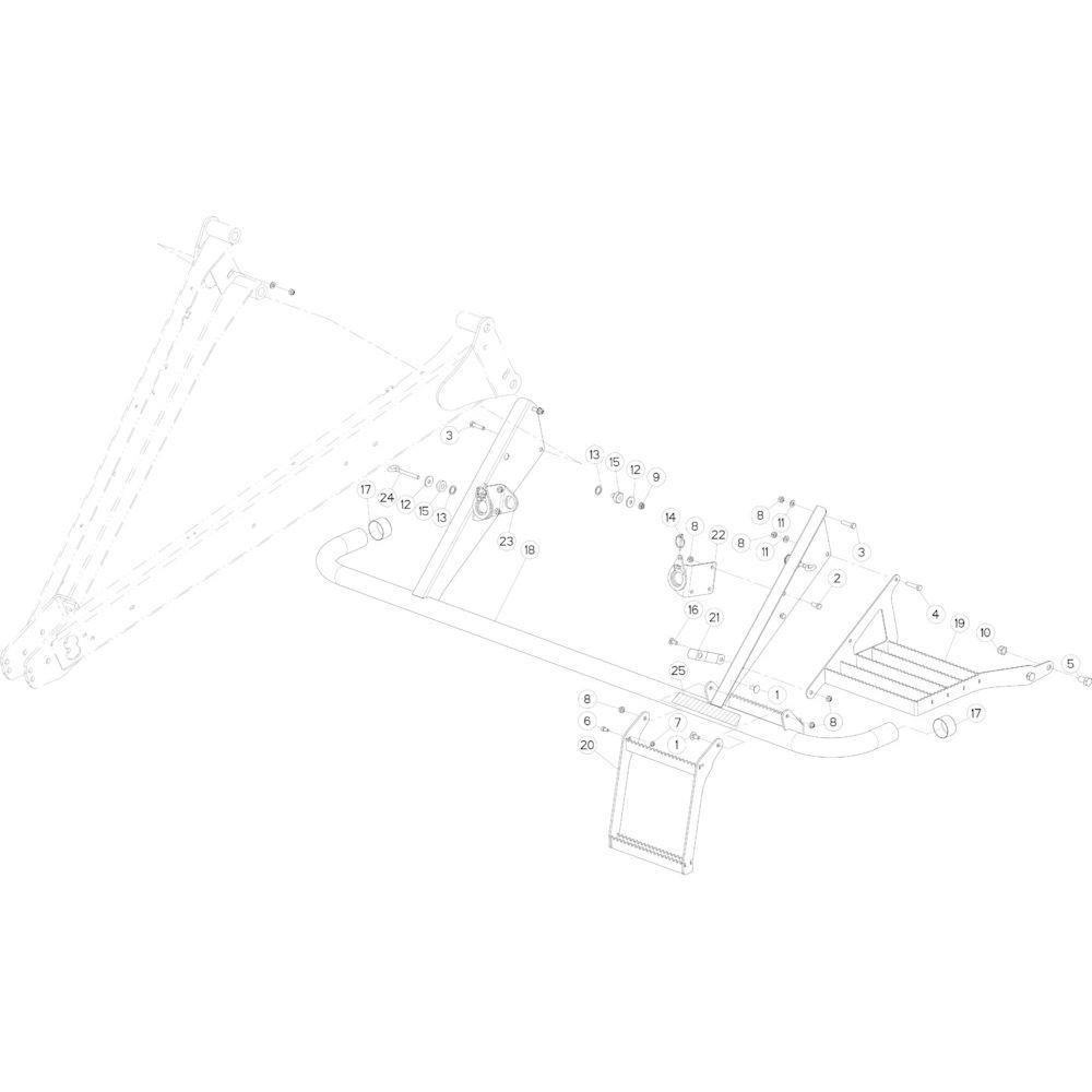 44 Beschermingen voorzijde passend voor KUHN FB2135