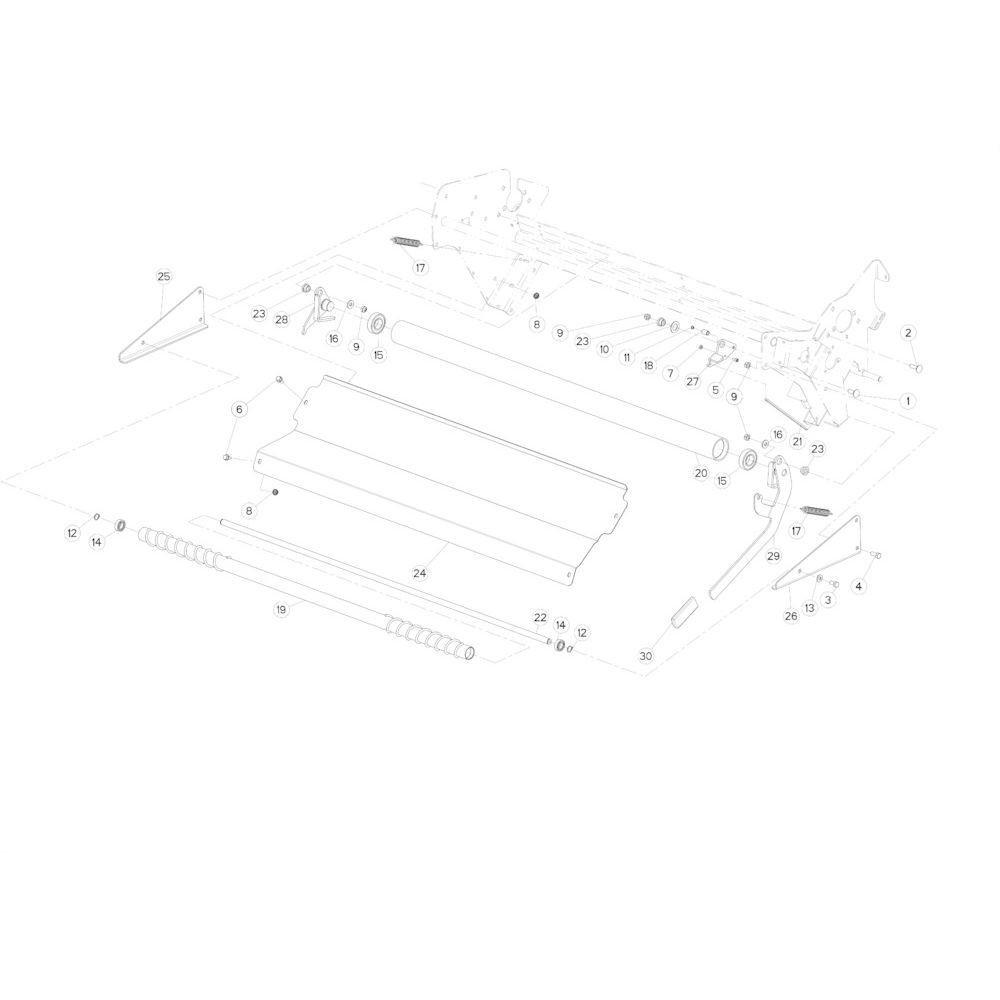 35 Netwikkelset passend voor KUHN FB3130
