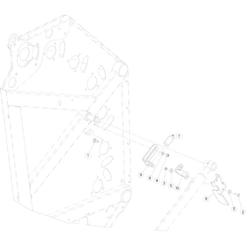 15 Sensor achterklep passend voor KUHN FB3130