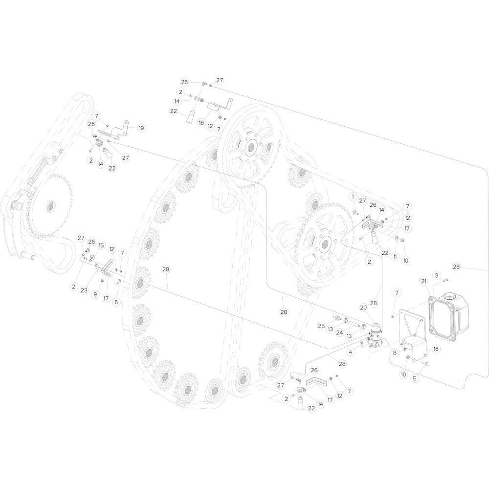 47 Smeersysteem passend voor KUHN FB3130