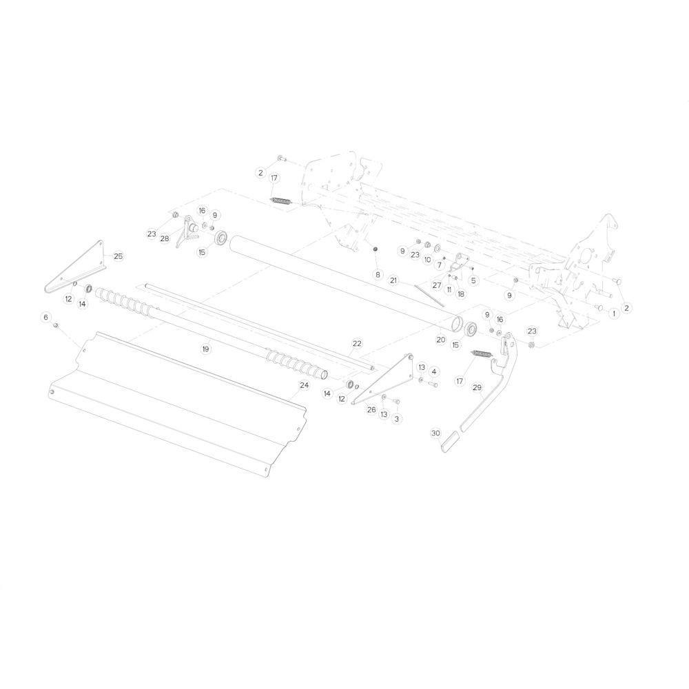 36 Netwikkelset passend voor KUHN FB3130