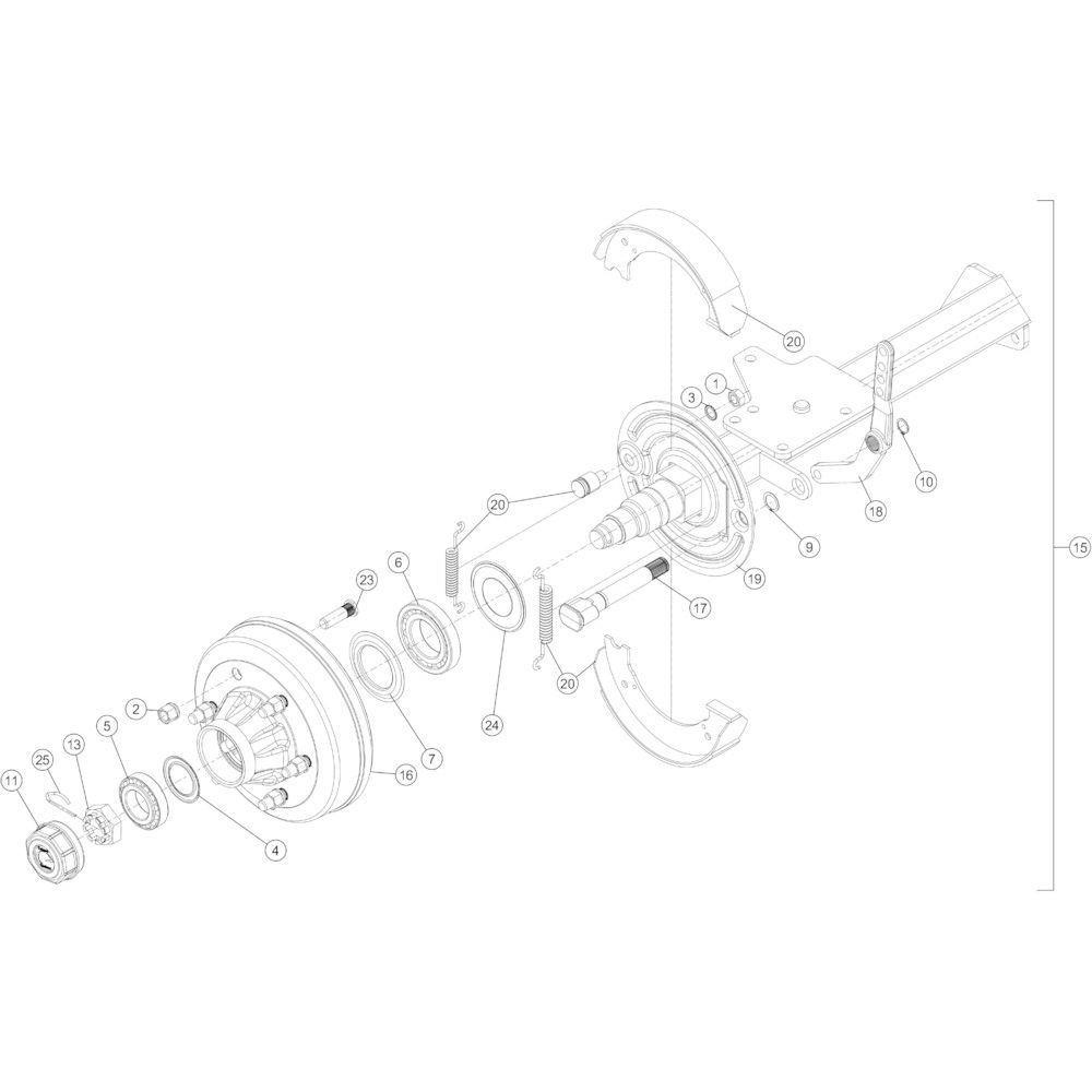 06 Remas passend voor KUHN FB3130