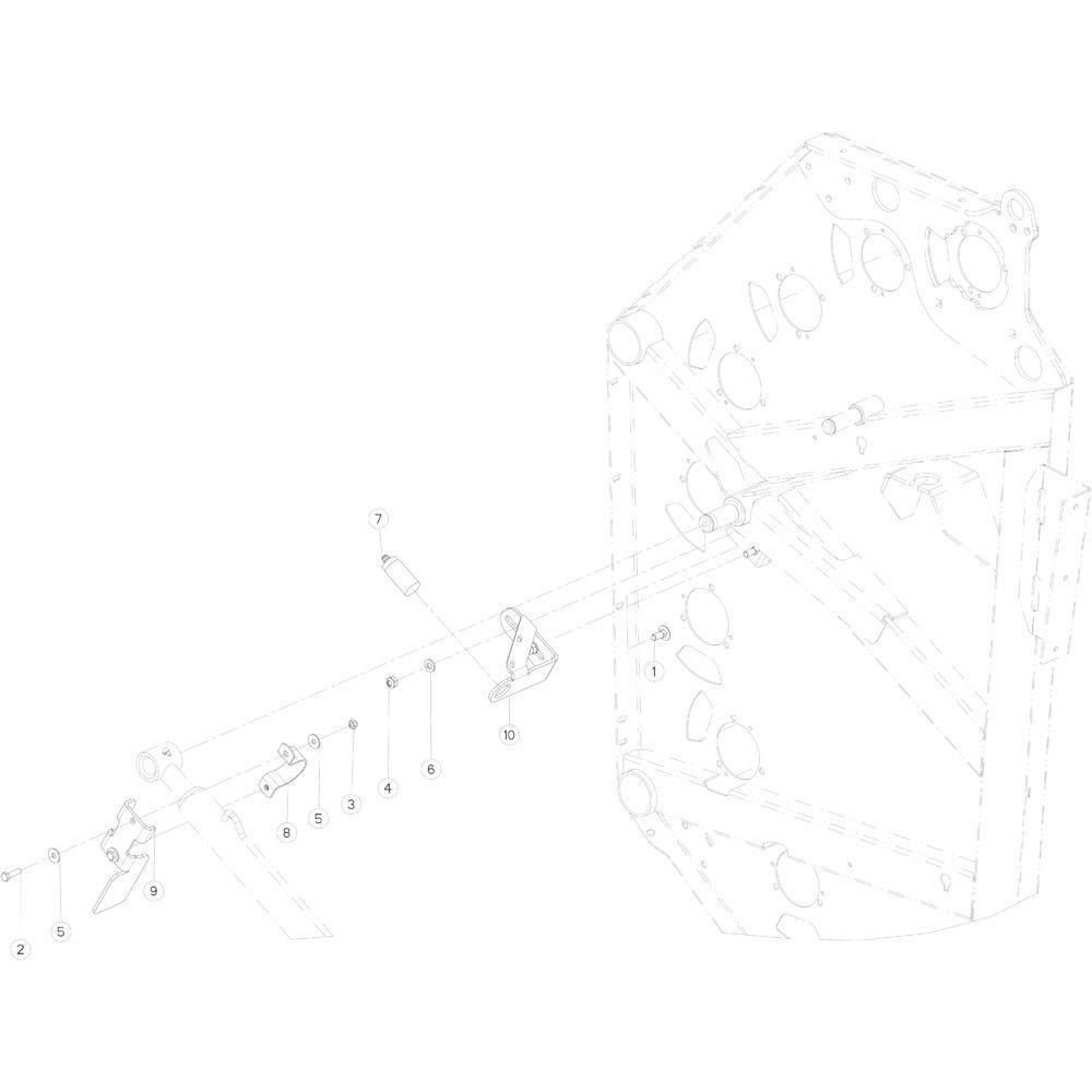 16 Sensor achterklep rechts passend voor KUHN FB3130