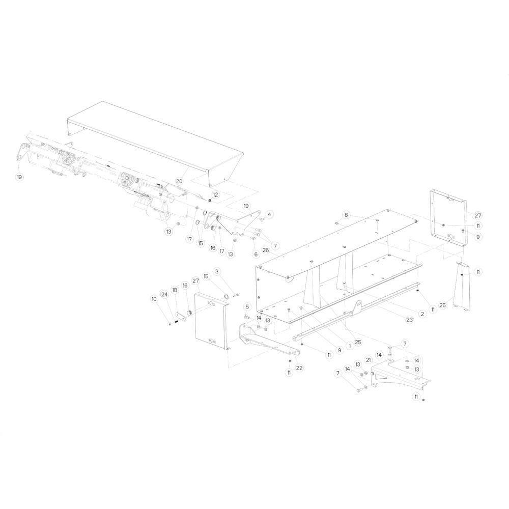 69 Touwbindsysteem passend voor KUHN FB3135