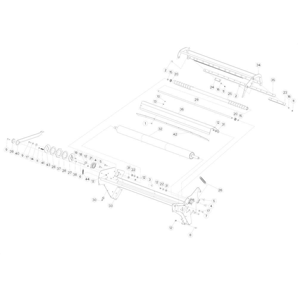 37 Netwikkelset passend voor KUHN FB3135
