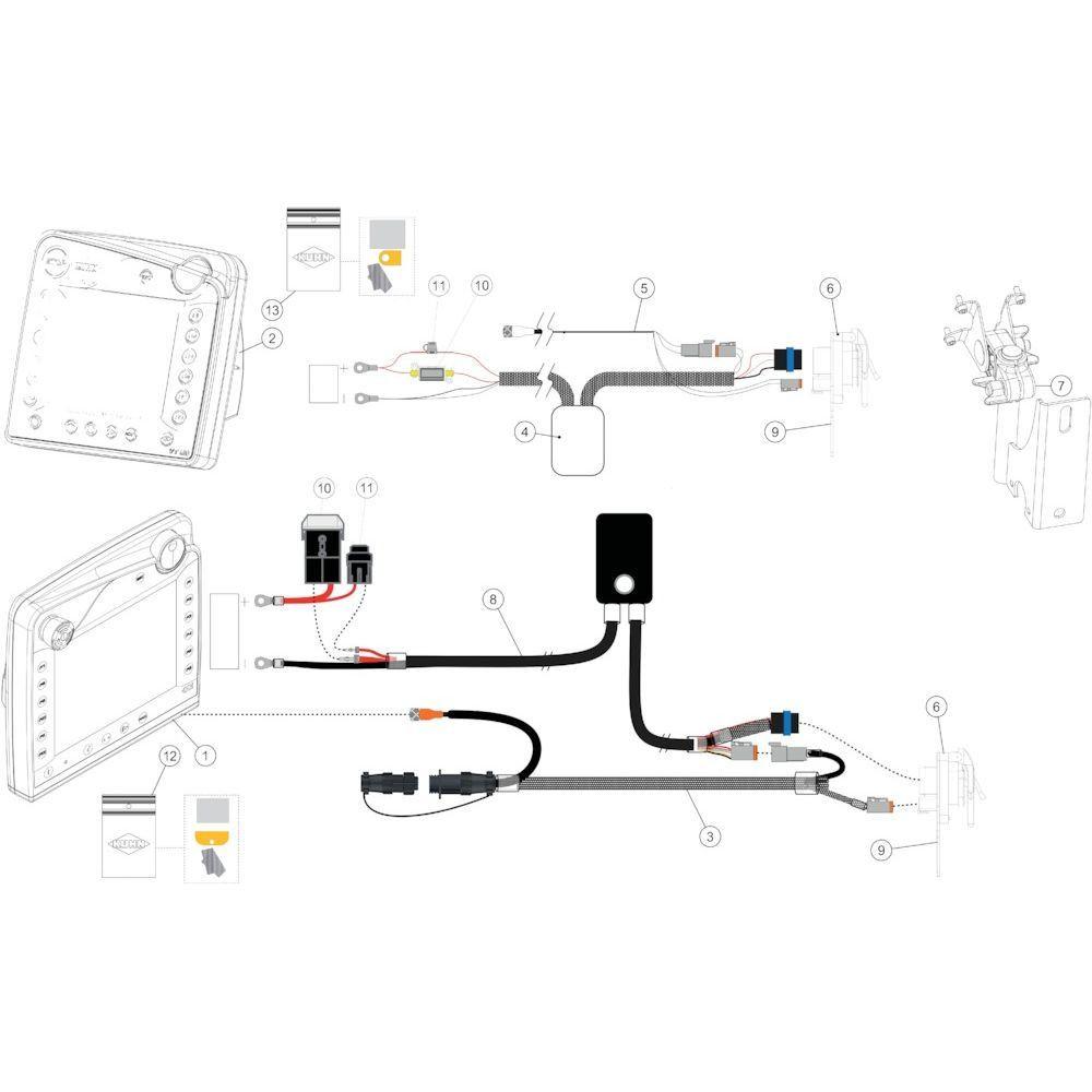 49 Besturingsbox Ccint50 passend voor KUHN FB3135