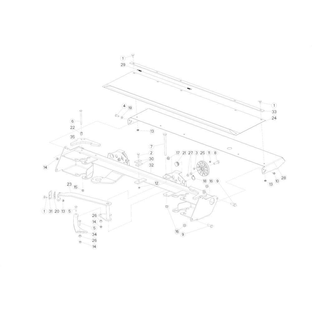 67 Touwbindsysteem passend voor KUHN FB3135