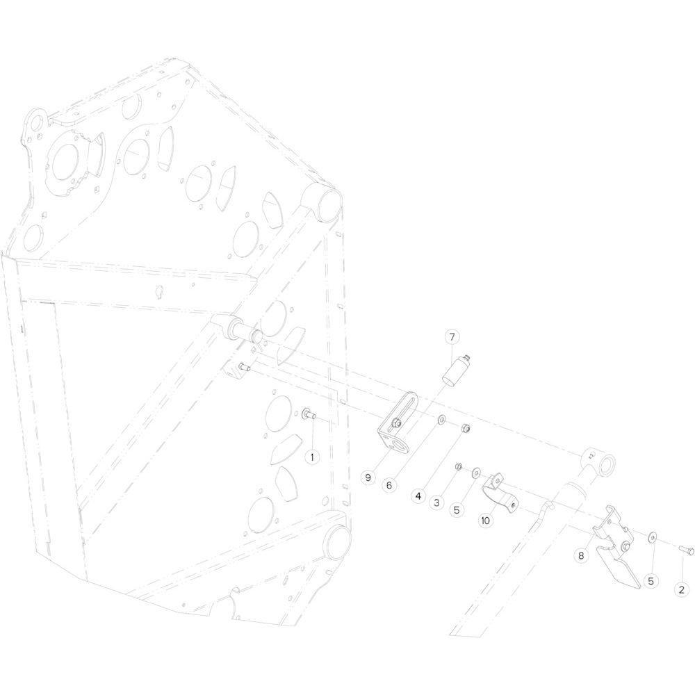 15 Sensor achterklep links passend voor KUHN FB3135