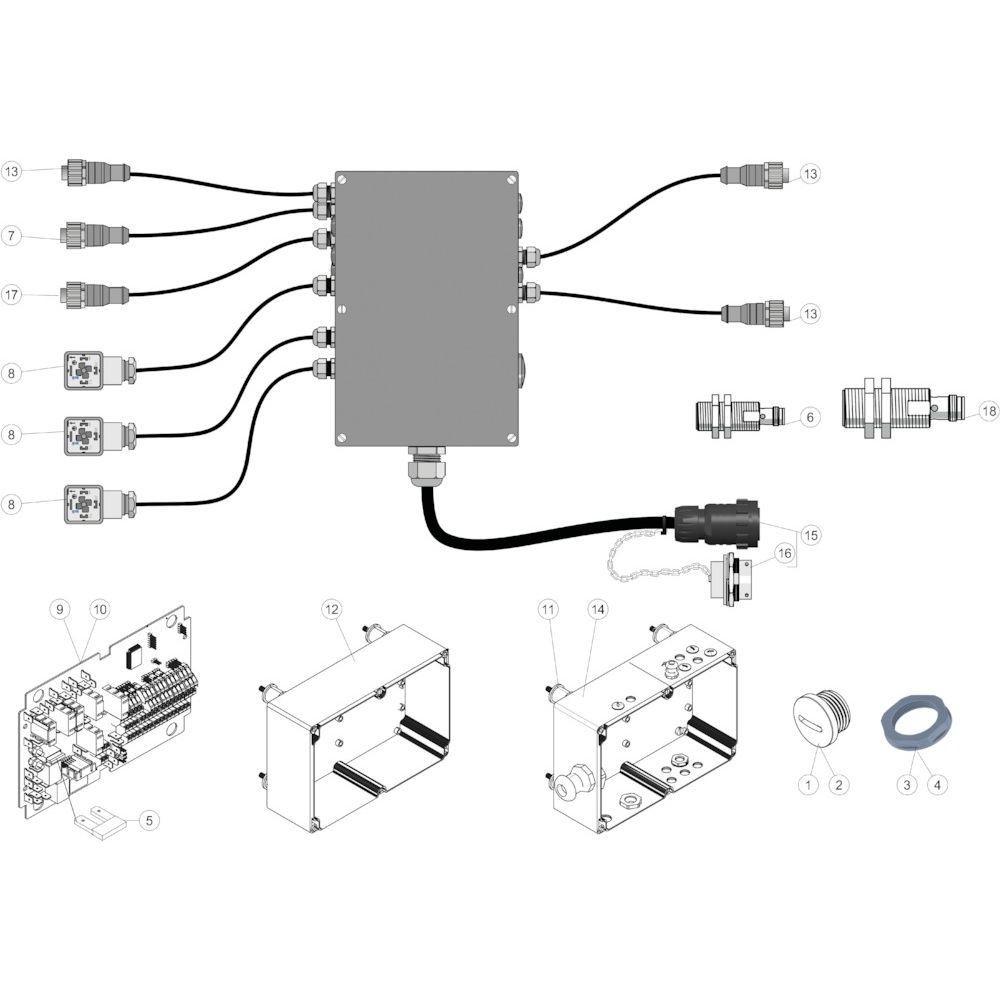 50 Elektrische regelaar passend voor KUHN FB3135