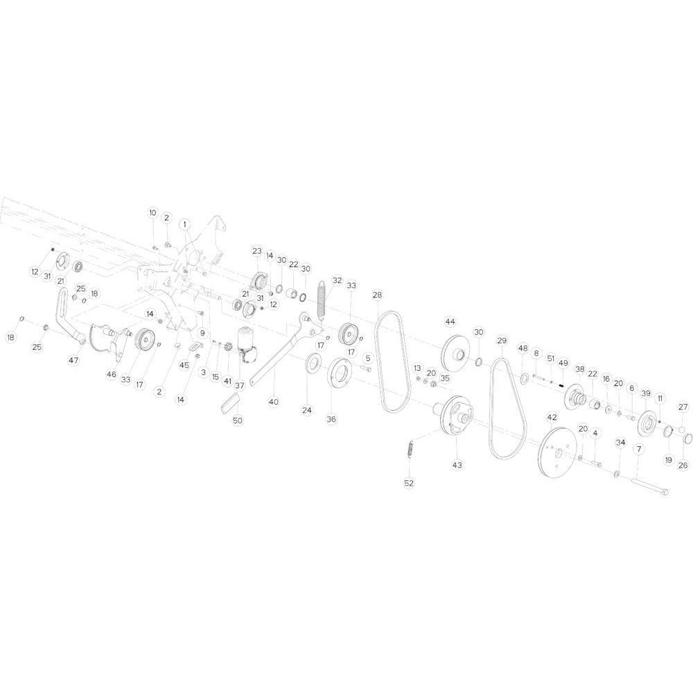 36 Netwikkelset passend voor KUHN FB3135