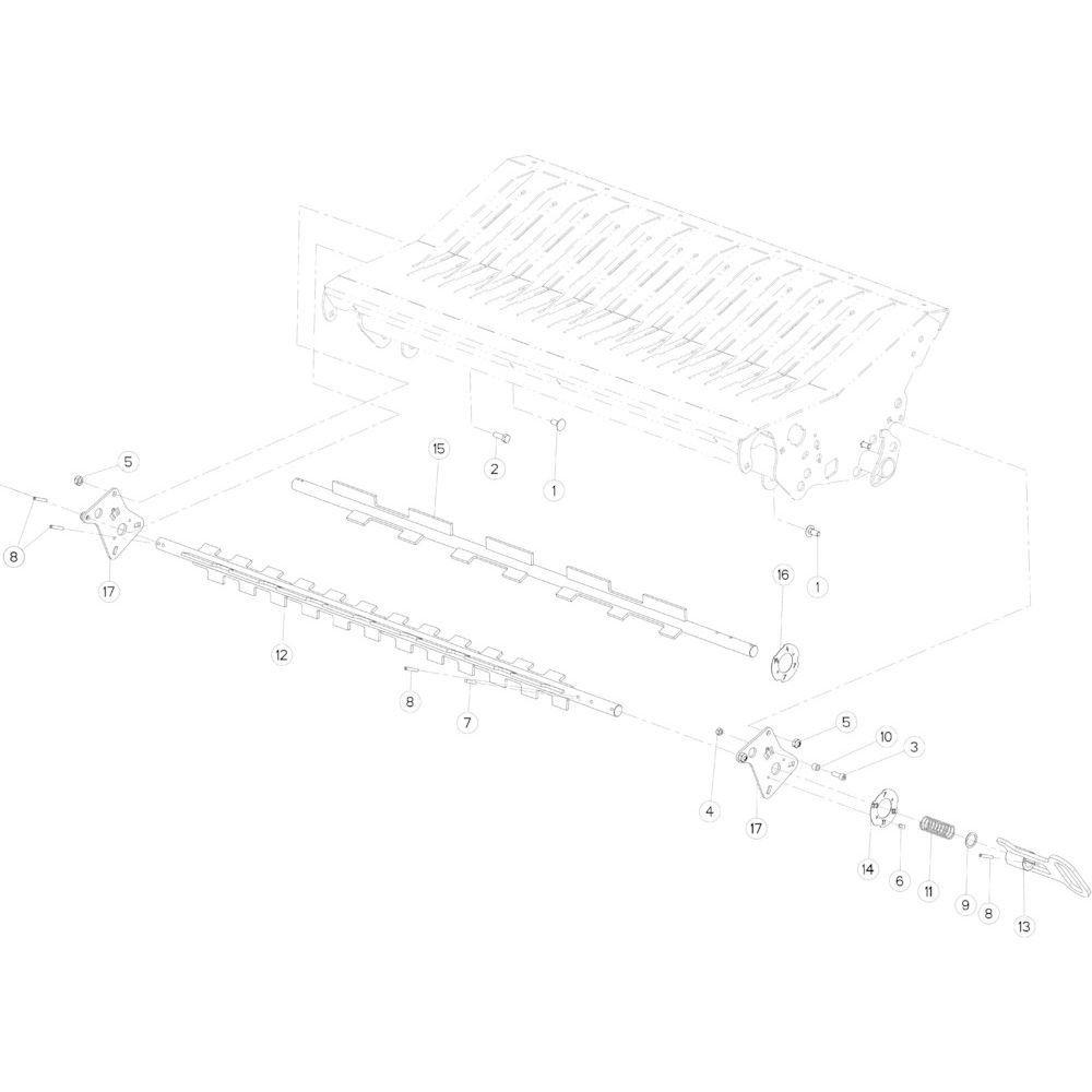33 Keuzeschakelaar 14-0C/23-0C passend voor KUHN FB3135