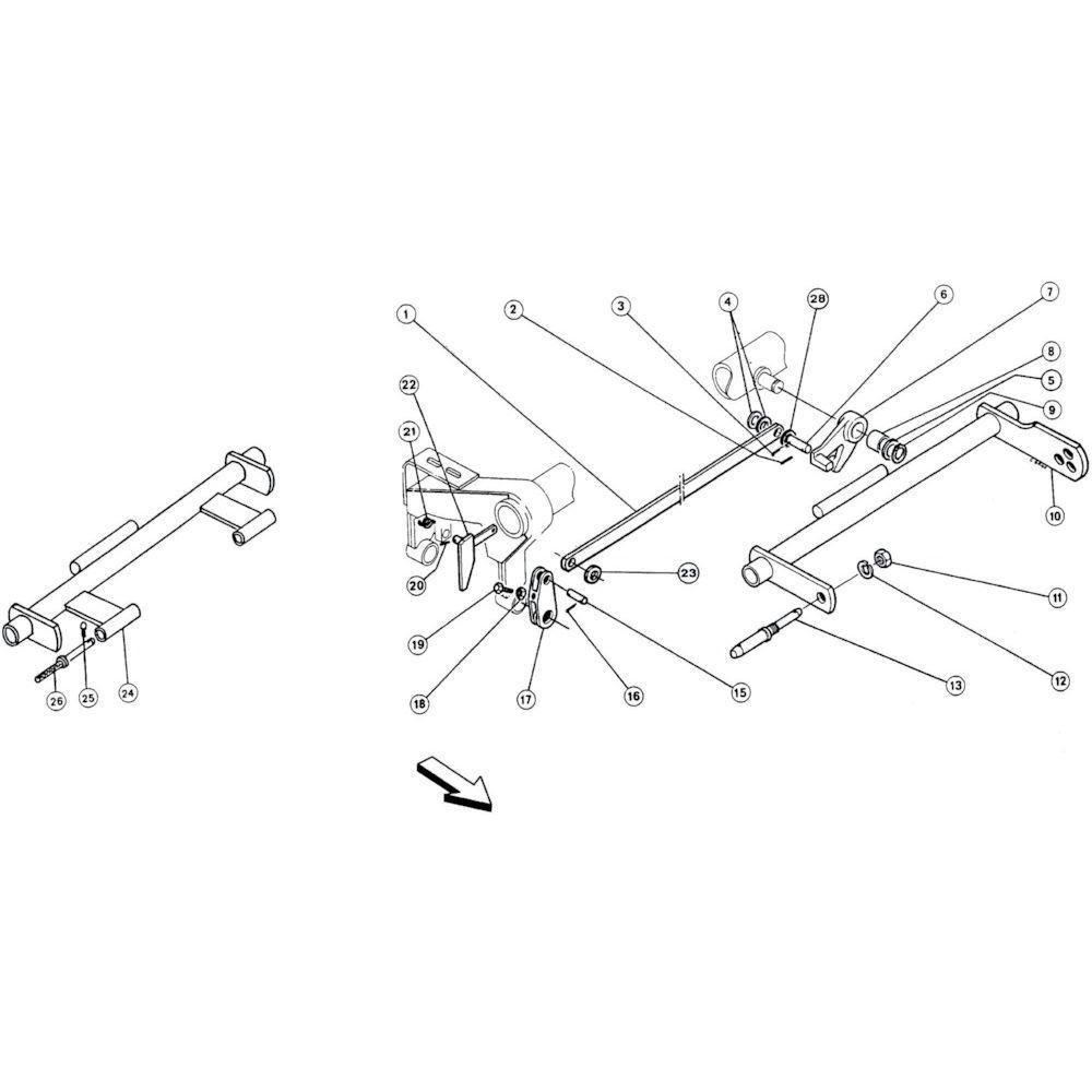 03 Hefsysteem passend voor KUHN FA 392