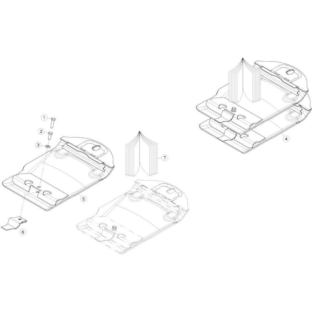 23 Zwadborden passend voor KUHN GMD280F