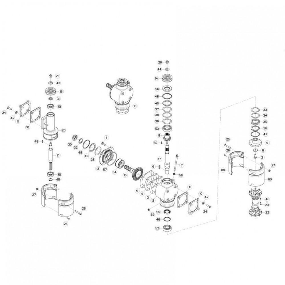 06 Aandrijving passend voor KUHN GMD310F