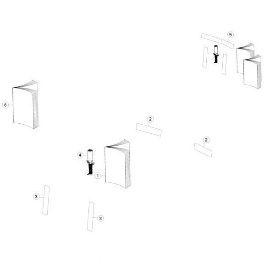19 Bevestigingsframe passend voor KUHN GMD310F