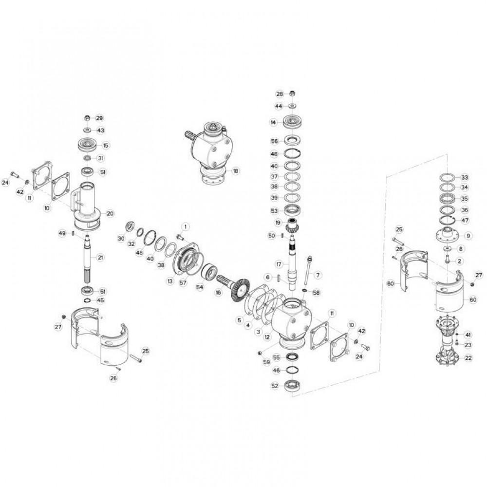 06 Aandrijving passend voor KUHN GMD310F-FF