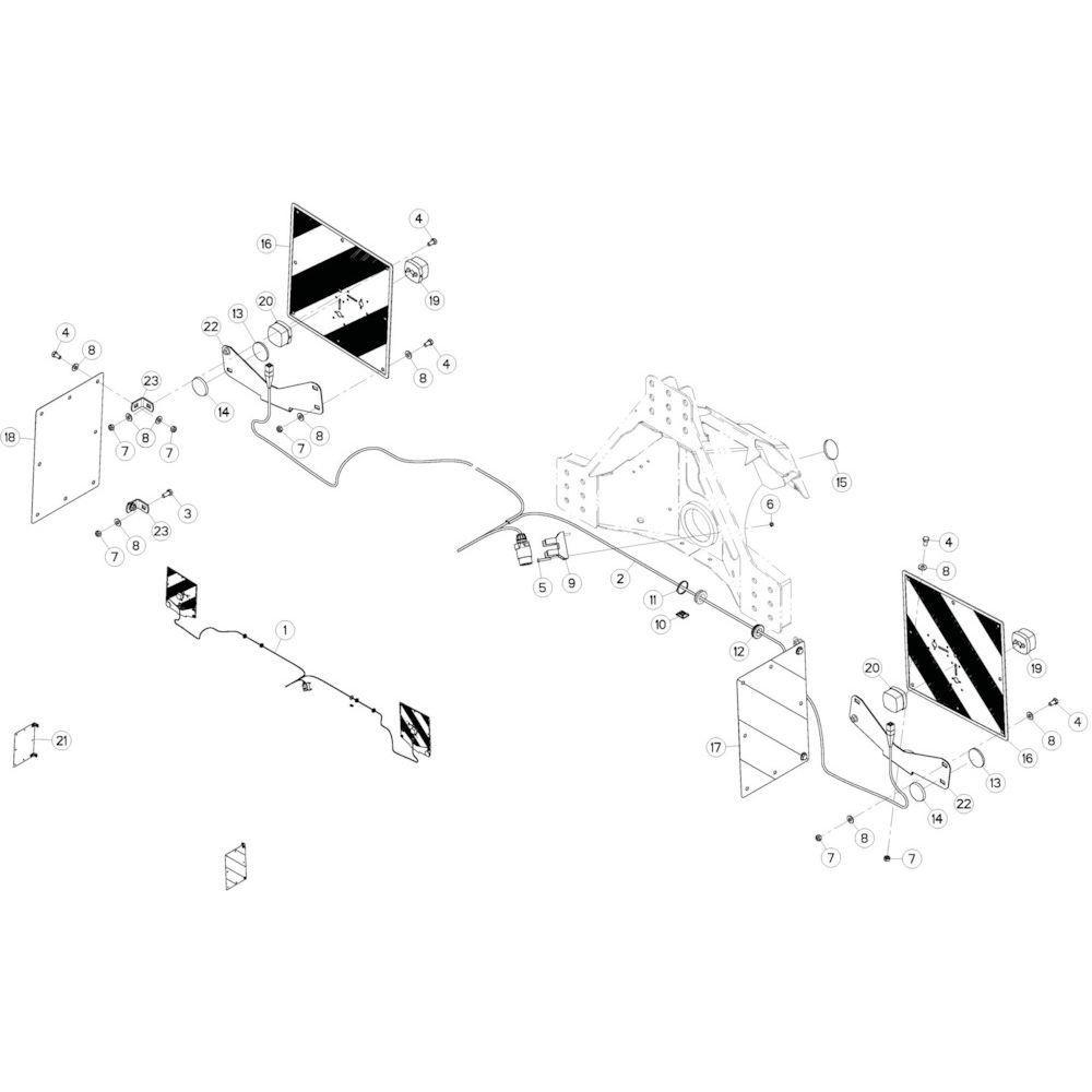 15 Verlichting passend voor KUHN GMD3120F