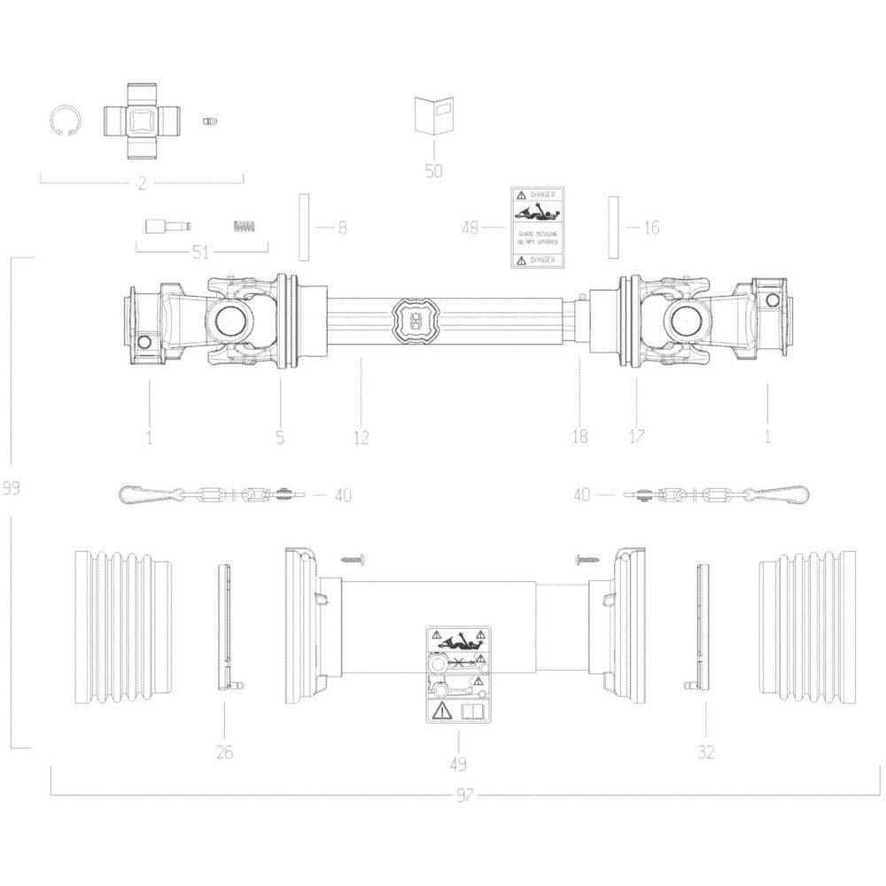 20 Transmissie passend voor KUHN GMD3120F