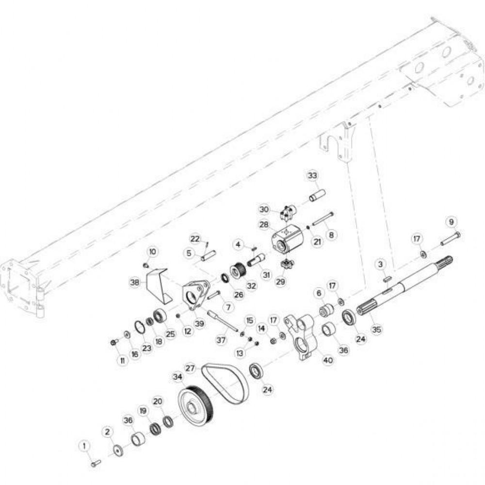 06 Hydrauliekpomp passend voor KUHN FC313TG-FFRA